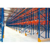 Quality Blue Orange Industrial Galvanised Pallet Racking Shelves Material Handling Racks wholesale