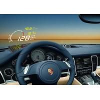 Quality Andriod Mobile OBD2 Smartphone Heads Up Display X3 5.5 Inch Bluetooth Function Multicolor wholesale