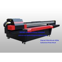 Quality Ricoh GEN5 Print Head digital uv flatbed printer For Building & Decoration wholesale