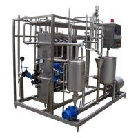 Quality 3 Stages / 4 Periods Plate Type Juice Sterilizer Dairy Processing Equipment 6TPH SUS316L wholesale