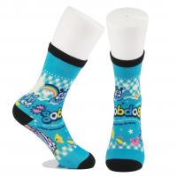 Quality Breathable Eco - Friendly 3D Printed Socks For Adults Custom Made Size wholesale