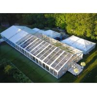 Buy cheap Luxury Transparent PVC Cover Waterproof Aluminum Frame Wedding Tent as Outdoor Marquee Tent from wholesalers
