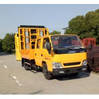 Buy cheap ISUZU Chassis Pneumatic Truck Mounted Attenuator With LED Display Screen from wholesalers