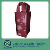 Buy cheap wine bag/ non woven wine bag/ eco-friendly wine bag from wholesalers