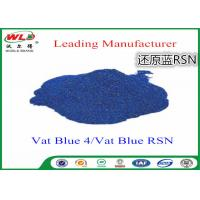 Quality Cotton Dyes Blue Dye Stuff Rsn Vat Blue 4 Chemicals Used In Textile Dyeing wholesale