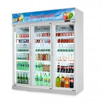 Buy cheap Commercial Beverage Display Cooler With Double Doors For Flowers Drinks from wholesalers