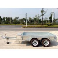 Quality 10x5 Hot Dip Galvanised Tandem Trailers 2000KG wholesale