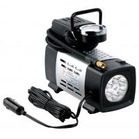 12V With light Black Metal Vehicle Air Compressor All Ride For Car Inflation Anti - Dust