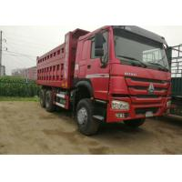 Quality Industrial Dump Truck Heavy Duty / Sand Dump Truck With 12.00R20 Tyres wholesale