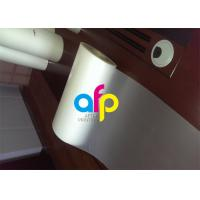 Quality Custom Size Polyester Laminating Film , 18 - 250 Micron Thermal Matte PET Film wholesale