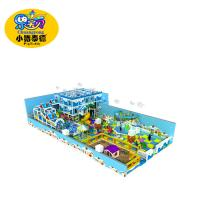Indoor and outdoor soft playground equipment  children have fun