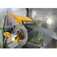 Buy cheap GI coil / Aluminum / Steel Slitting Line Steel Roll Forming Machine from wholesalers