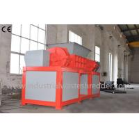 Quality 2 Shaft Plastic Waste Shredder Low Energy Consumption For Drainage Pipes wholesale