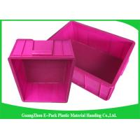 Quality Top Plastic Solid Euro Stacking Containers Reusable For Fruit And Vegetable wholesale