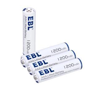 Buy cheap Advanced AAA Lithium Ion Batteries 1200mah 1.5v High Capacity Long Lasting from wholesalers