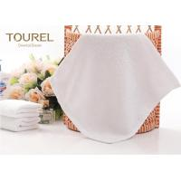 Quality 100% Cotton White Hotel Face Towel wholesale