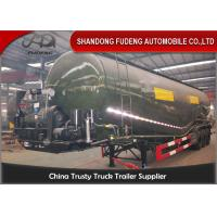 Buy cheap V Type Middle-Density Cement Tanker Truck 30-75CBM Loading Capacity from wholesalers