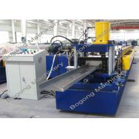 Quality C200 PLC Control Purlin Roll Forming Machine Customized 10 - 20m / Min Speed wholesale