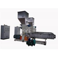 Quality Pvc Granules Single Screw Extrusion Machine With Water Strand Auxiliary System wholesale