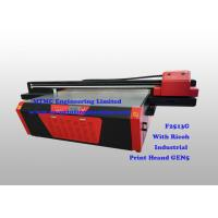 Quality Industrial Flatbed UV Printer With Ricoh GEN5 High Speed Print Head wholesale