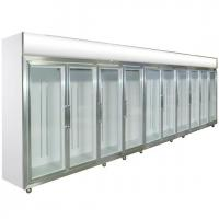 Buy cheap Green&Health mobile commercial shop glass door drink display fridge refrigerator from wholesalers