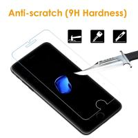 Quality Easy Installation iPhone Tempered Glass Screen Protector Shatter Proof 9H Hardness wholesale