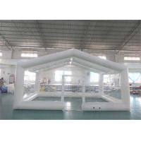 Buy cheap Durable Transparent Large Inflatable Tents / Blow Up Camping Tent from wholesalers