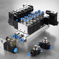 Quality 2 Position Air Actuated Solenoid Valve , Plate Type Double Acting Solenoid Valve wholesale