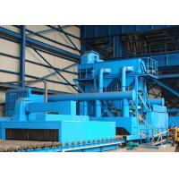 Buy cheap Automatic Steel Plate Shot Blasting Machine Metal Cleaning With 1400 × 500mm from wholesalers