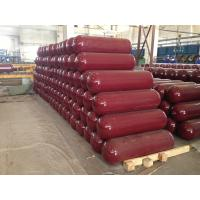 Quality ISO9809 CNG Gas Cylinder for Natural Gas Transportation / Storage OD 356mm wholesale