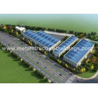 Quality A36 A572 Metal Steel Structure Warehouse Energy Saving For Food Factory wholesale