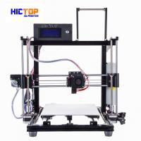 Auto Leveling 3d printers desktop PLA / ABS / WOOD Flexible in Black