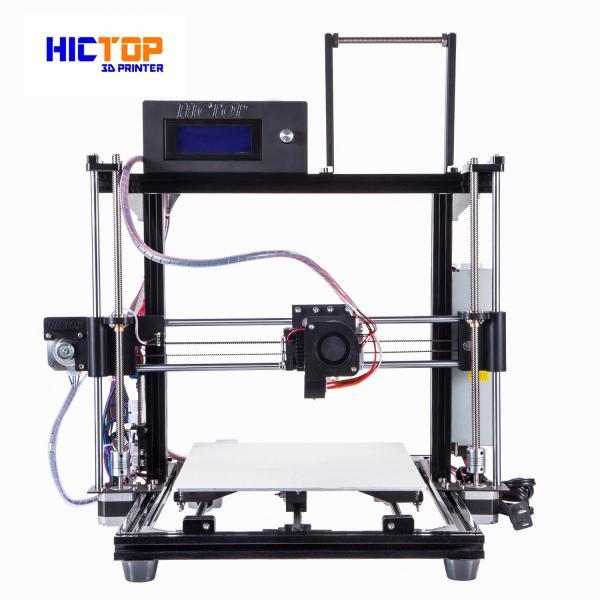 Cheap Auto Leveling 3d printers desktop PLA / ABS / WOOD Flexible in Black for sale