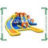 Cheap PVC Tarpaulin Water Inflatable Slide 8m*6m*4m For Amusement Park wholesale