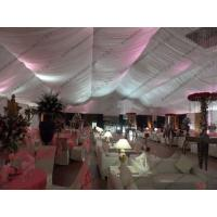 Buy cheap Flame Retardant Outdoor Party Canopy Wedding Tent with Protective Hard Pressed Extruded Aluminum from wholesalers
