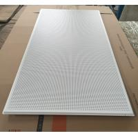 Quality 595x1195mm Galvanized Steel Acoustic Ceiling Tiles For Shopping Malls wholesale
