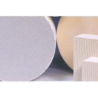 Thin Honeycomb Ceramic Substrate , Cellular Catalyst Substrates