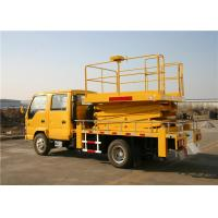 Buy cheap ISUZU Chassis 4x2 Drive 22M Truck Mounted Aerial Work Platform 90km/H 200kg Load from wholesalers