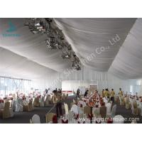 Quality 20m Width Outdoor Event Tents , Full Decorations Large Tents For Outdoor Events wholesale