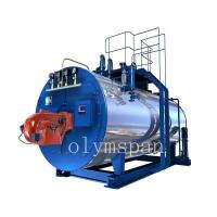 Buy cheap High Pressure Gas Fired Steam Boiler , 1 Ton Atomized Steel Steam Gas Heating Boiler from wholesalers