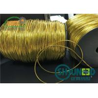 Buy cheap Custom Gold and Silver Round Elastic Cord Thread String for Hanging from wholesalers