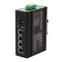 Buy cheap Portable Four Port Poe Switch , Fiber Optic Ethernet Switch 4 X 10/100/1000Base-T from wholesalers