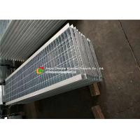 Quality Angle Bar Welded Steel Grating , Reinforced Concrete Areas Heavy Duty Bar Grating wholesale