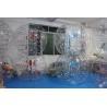 Cheap 0.8mm PVC 1.5 m diameter body zorb inflatable bubble soccer CE wholesale