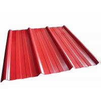 Quality High Precision Metal Roofing Sheets Corrugated Customized Shape wholesale