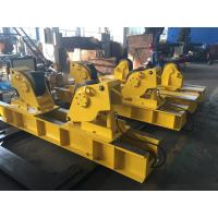 Bolt Adjustment Conventional Welding Rotator Pipe Turning Rolls For Vessel