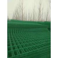 Quality Grass Green Metal Mesh Fencing Quick Installation For Residential Area / Port wholesale