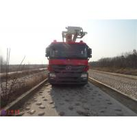 Quality Water Capacity 4800kg Water Tower Fire Truck Max Loading 23700Kg With With Fully Hydraulic Drive wholesale