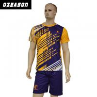 Quality Custom Sublimated Anti-Shrink 100%Polyester Football Jersey for Adults & Kids wholesale