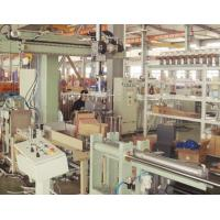 Bagging and palletizing robot for rubber brick